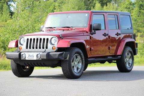 2013 Jeep Wrangler Unlimited for sale in Hampstead, NH