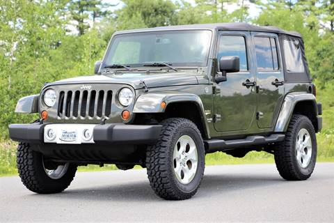 2015 Jeep Wrangler Unlimited for sale in Hampstead, NH