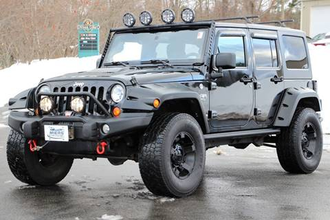 2012 Jeep Wrangler Unlimited for sale in Hampstead, NH