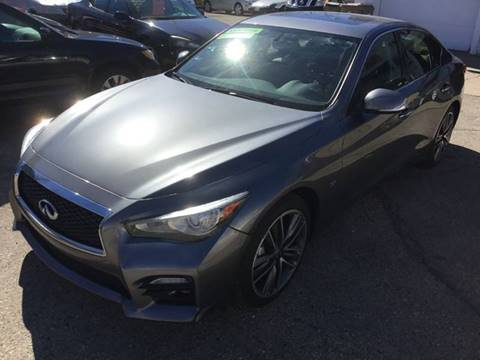 2014 Infiniti Q50 for sale at Steve's Auto Sales in Madison WI