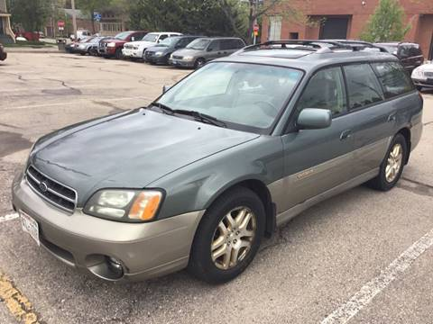 2002 Subaru Outback for sale at Steve's Auto Sales in Madison WI
