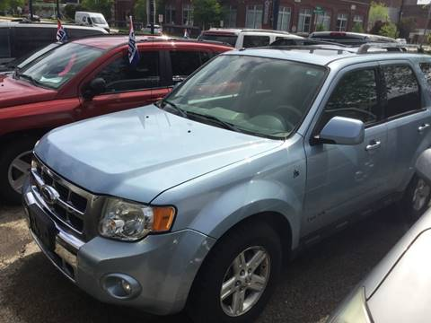 2008 Ford Escape Hybrid for sale at Steve's Auto Sales in Madison WI