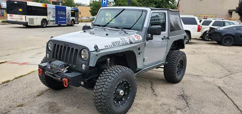 2013 Jeep Wrangler for sale in Madison, WI