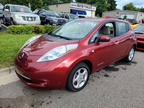 2011 Nissan LEAF for sale at Steve's Auto Sales in Madison WI