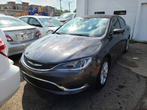 2015 Chrysler 200 for sale at Steve's Auto Sales in Madison WI