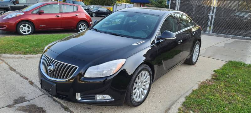 2013 Buick Regal for sale at Steve's Auto Sales in Madison WI