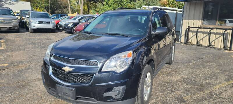 2012 Chevrolet Equinox for sale at Steve's Auto Sales in Madison WI
