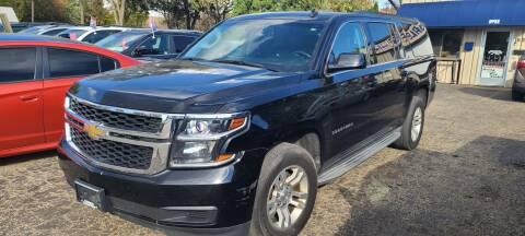 2015 Chevrolet Suburban for sale at Steve's Auto Sales in Madison WI