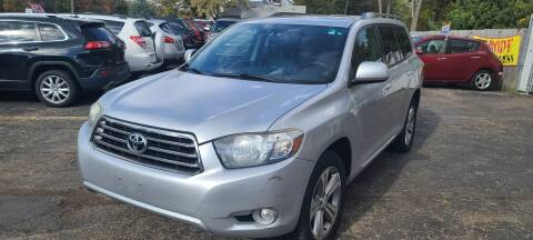 2008 Toyota Highlander for sale at Steve's Auto Sales in Madison WI