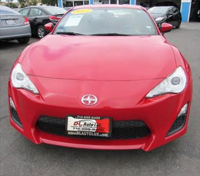 2013 Scion FR-S for sale at DL Auto Lux Inc. in Westminster CA