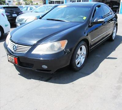 2007 Acura RL for sale at DL Auto Lux Inc. in Westminster CA