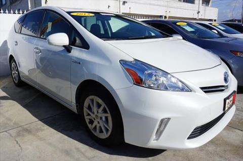 2013 Toyota Prius v for sale at DL Auto Lux Inc. in Westminster CA