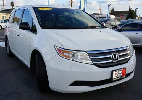 2013 Honda Odyssey for sale at DL Auto Lux Inc. in Westminster CA
