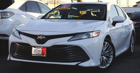 2018 Toyota Camry Hybrid for sale at DL Auto Lux Inc. in Westminster CA