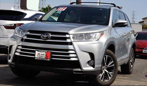 2017 Toyota Highlander for sale at DL Auto Lux Inc. in Westminster CA