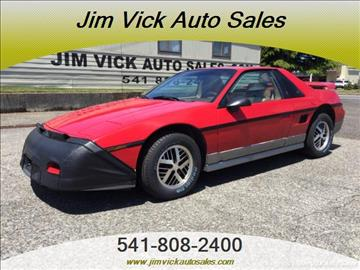 1985 Pontiac Fiero for sale in North Bend, OR