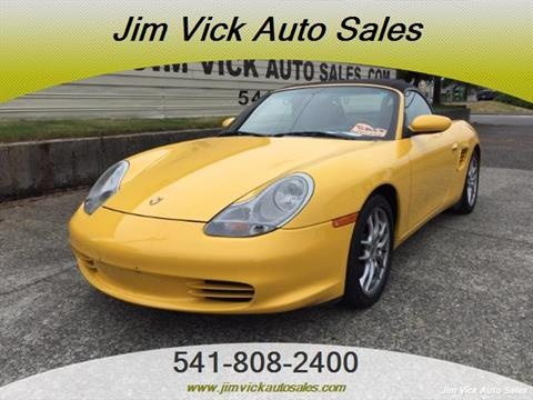 2004 Porsche Boxster for sale in North Bend, OR