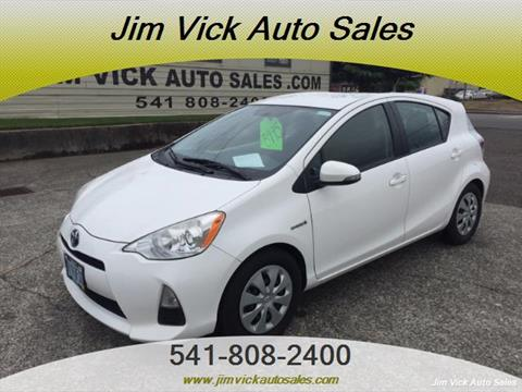 2012 Toyota Prius c for sale in North Bend, OR