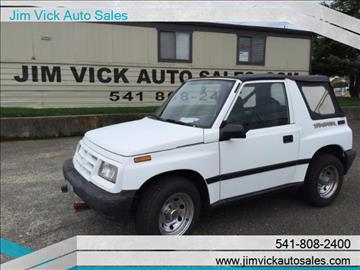1997 GEO Tracker for sale in North Bend, OR