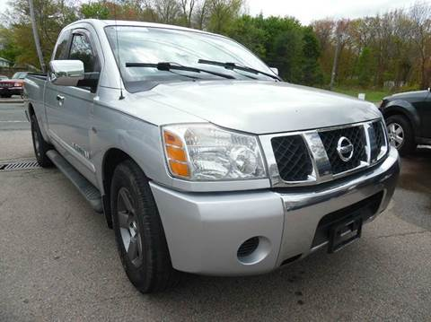 2005 Nissan Titan for sale at L A Used Cars in Abington MA