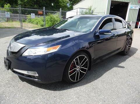 2009 Acura TL for sale at L A Used Cars in Abington MA