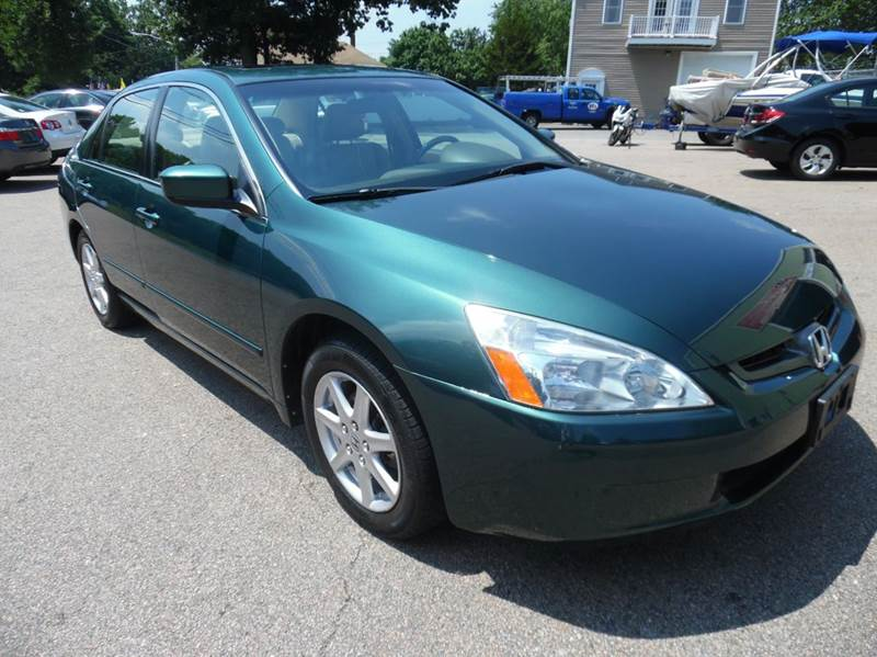 2003 Honda Accord for sale at L A Used Cars in Abington MA