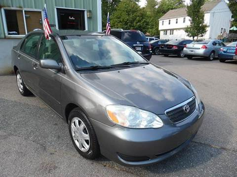 2006 Toyota Corolla for sale at L A Used Cars in Abington MA