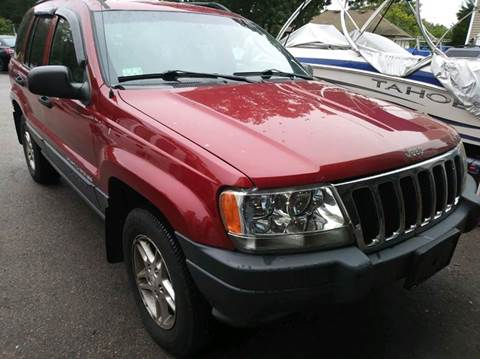 2003 Jeep Grand Cherokee for sale at L A Used Cars in Abington MA