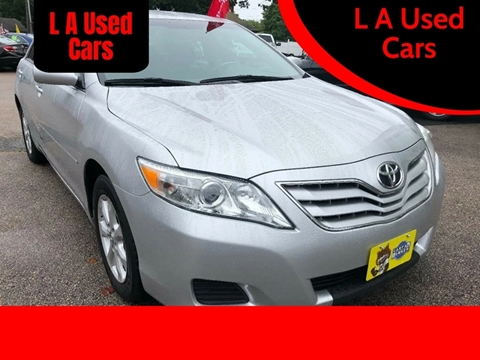 2011 Toyota Camry for sale at L A Used Cars in Abington MA
