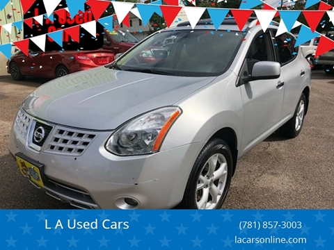 2010 Nissan Rogue for sale at L A Used Cars in Abington MA