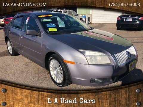2007 Mercury Milan for sale at L A Used Cars in Abington MA
