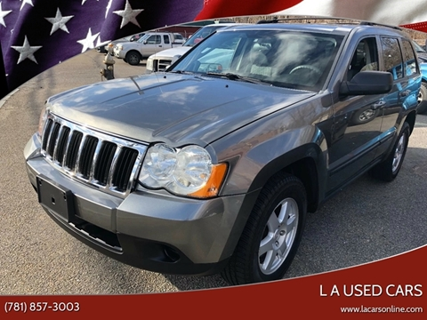 2008 Jeep Grand Cherokee for sale at L A Used Cars in Abington MA