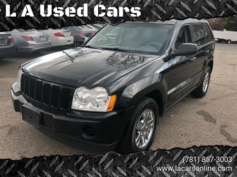 2005 Jeep Grand Cherokee for sale at L A Used Cars in Abington MA