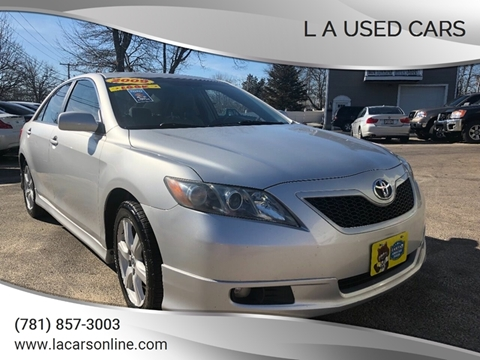 2009 Toyota Camry for sale at L A Used Cars in Abington MA