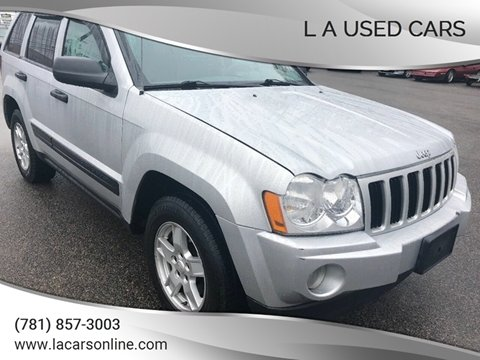 2006 Jeep Grand Cherokee for sale at L A Used Cars in Abington MA