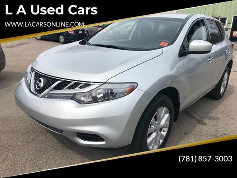 2012 Nissan Murano for sale at L A Used Cars in Abington MA