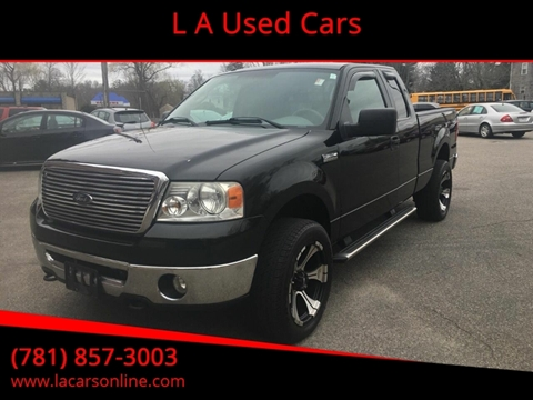 2006 Ford F-150 for sale at L A Used Cars in Abington MA