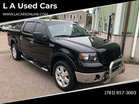 2008 Ford F-150 for sale at L A Used Cars in Abington MA
