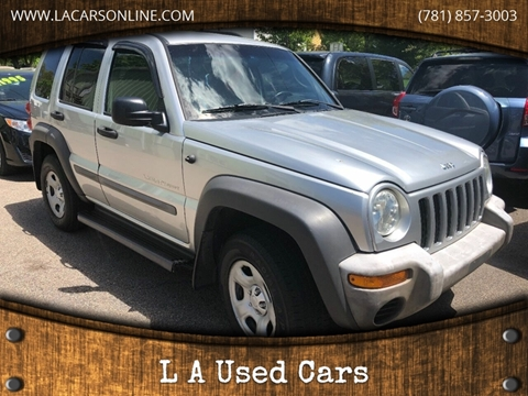 2002 Jeep Liberty for sale in Abington, MA