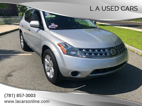 2007 Nissan Murano for sale at L A Used Cars in Abington MA