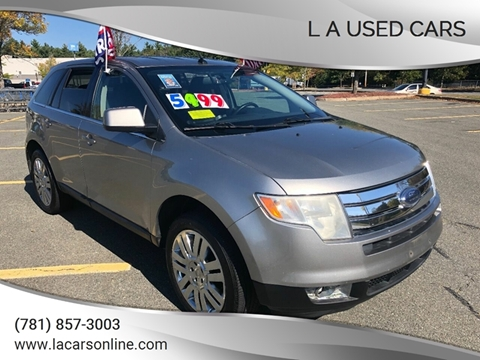 2008 Ford Edge for sale at L A Used Cars in Abington MA