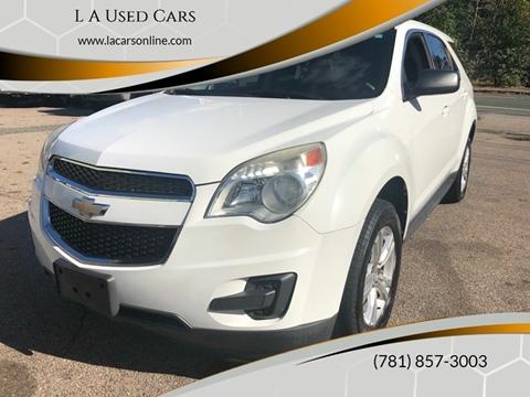2012 Chevrolet Equinox for sale in Abington, MA
