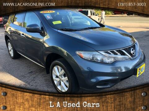 2011 Nissan Murano for sale at L A Used Cars in Abington MA