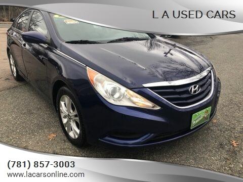 2011 Hyundai Sonata for sale at L A Used Cars in Abington MA