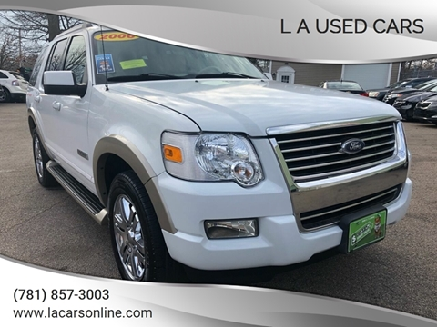 2006 Ford Explorer for sale at L A Used Cars in Abington MA