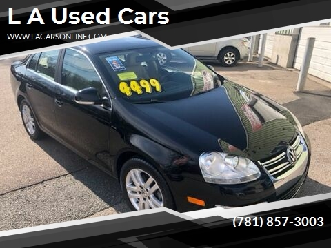 2007 Volkswagen Jetta for sale at L A Used Cars in Abington MA