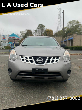 2011 Nissan Rogue for sale at L A Used Cars in Abington MA
