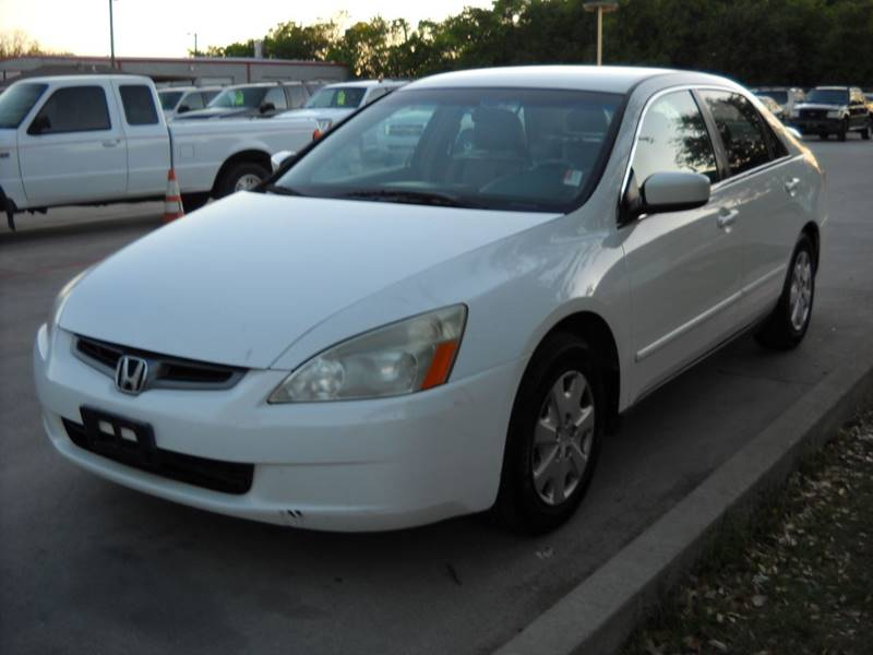 2004 honda accord lx 4dr sedan in grand prairie tx chase. Black Bedroom Furniture Sets. Home Design Ideas