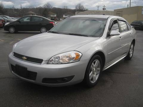 2011 Chevrolet Impala for sale at ELITE AUTOMOTIVE in Euclid OH