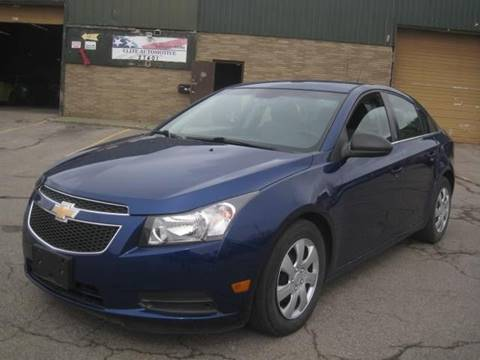 2012 Chevrolet Cruze for sale at ELITE AUTOMOTIVE in Euclid OH